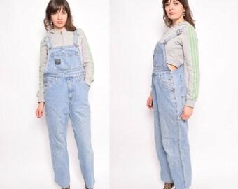 Vintage 90's Blue Denim Overalls