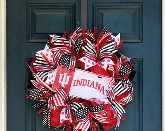 Indiana University Wreath