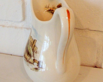 Royal Staffordshire Castle Ruins Creamer Pitcher, made in England