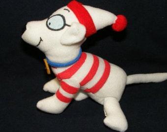 Woof Dog Doll, Woof Stuffed Doll, Where's Waldo, Wheres Waldo, Waldo Toys, Quaker Oats, Stuffed Doll, Waldo,