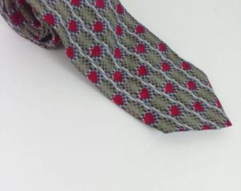 HEARTS ON FIRE Valentine's Day Rockabilly Necktie Heart Suit Tie