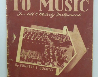 Highways to Music by Forrest L. Buchtel - 1940s Classical Sheet Music