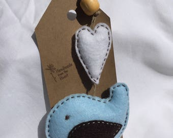 Baby Blue Bird Hanger
