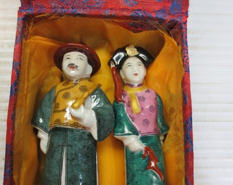 Rare One Of A Kind Chinese Snuff Bottles In Original Case