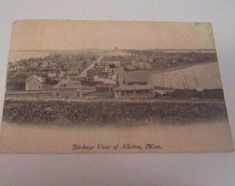 Birdseye view of Allerton,Ma