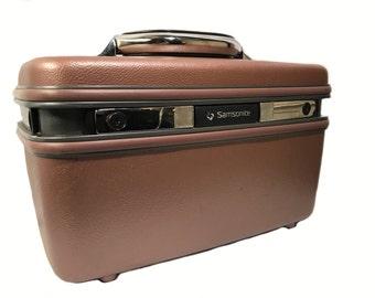 Samsonite Silhouette 4 Train Case - Copper Metallic Finish