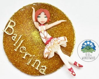 Félicie from BALLERINA animation film - Never give up on your dreams - OOAK CAMEO - Ballett, Classic dance, 1800