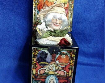 Enesco Scrooge Limited Edition Musical Jack in the Box