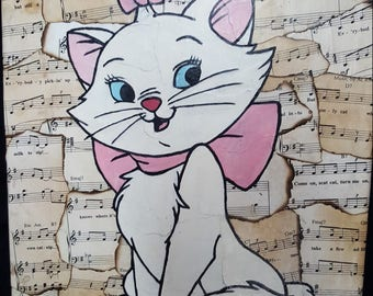 12x16 Disney's the Aristocats Marie Canvas