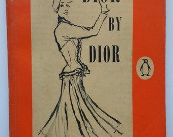 Dior by Dior 1950s Penguin vintage Christian Dior biography