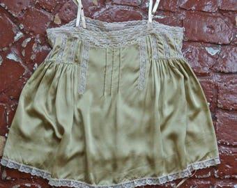 Beige Silk Lace Camisole