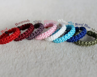 Macrame Bracelets for BJD (lots of colours)