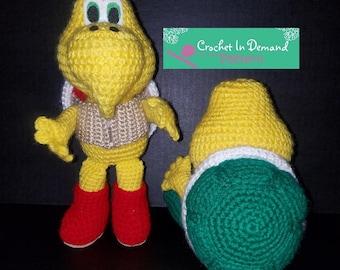PATTERN Crochet Koopa Troopa