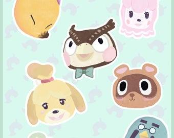Animal Crossing Badges