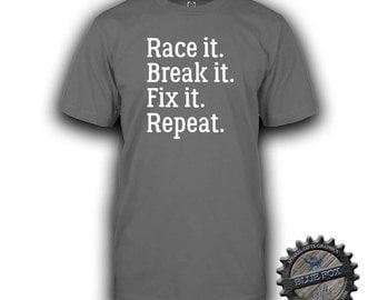 Racing Shirt,Funny Racing Shirt,Drag Car, RC Car Shirt,Tshirt,Mens T Shirt,Dirt Bike Racing,Rc Racing,Racing Gift,Gift for him,BFC_61