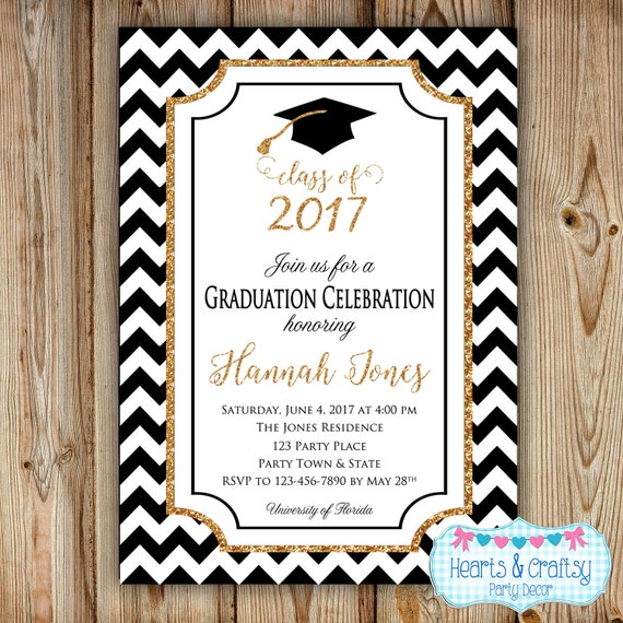 College Graduation Invitation 94