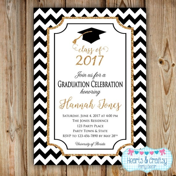 Graduation Party Invitation - College Graduation ...