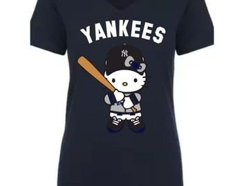 Similar Yankees Hello Kitty T-shirt