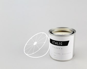 02 // Grapefruit - Half Pint (8oz) Scented Soy Candle in Paint Can