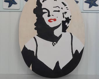 Pop Art Marilyn Monroe Painting