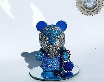 Custom Crystal Haunted Mansion hitchhiking ghost Gus Disney Vinylmation
