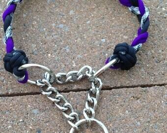 Paracord Martingale Dog Collar