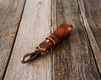 No.50   Leather Key Lanyard