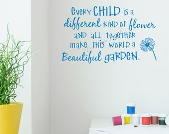Quotes Kids Enchanting Kids Room Quote  Etsy