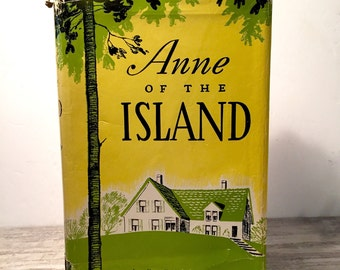 Anne of the Island, 1969, L.M. Montgomery, Childrens Novel, Lucy Maud Montgomery, Anne Shirley, Anne of Green Gables Series, Ryerson Press