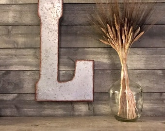 Distressed Wall Decor distressed letters | etsy