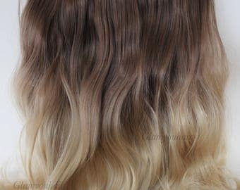 """16"""" 100g SYN Magic-HALO Secret-wire Ombre hair extension/ Many color/ NEW!!"""