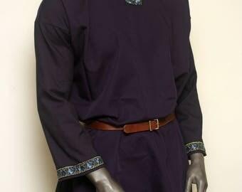 XL Dark Blue/Purple Viking Tunic