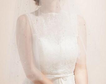Sparkle Rhinestone Veil, Sparkle Veil, Crystal Veil, Wedding Veil, Rhinestone Wedding Veil, Bridal Veil,  Rhinestone Veil, Drop Veil