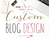 NEW YEAR SALE! Custom Blog Design for Wordpress and Blogspot Blogs - Blog Design / Custom Blog Designs / Custom Blogs / Wordpress Blog