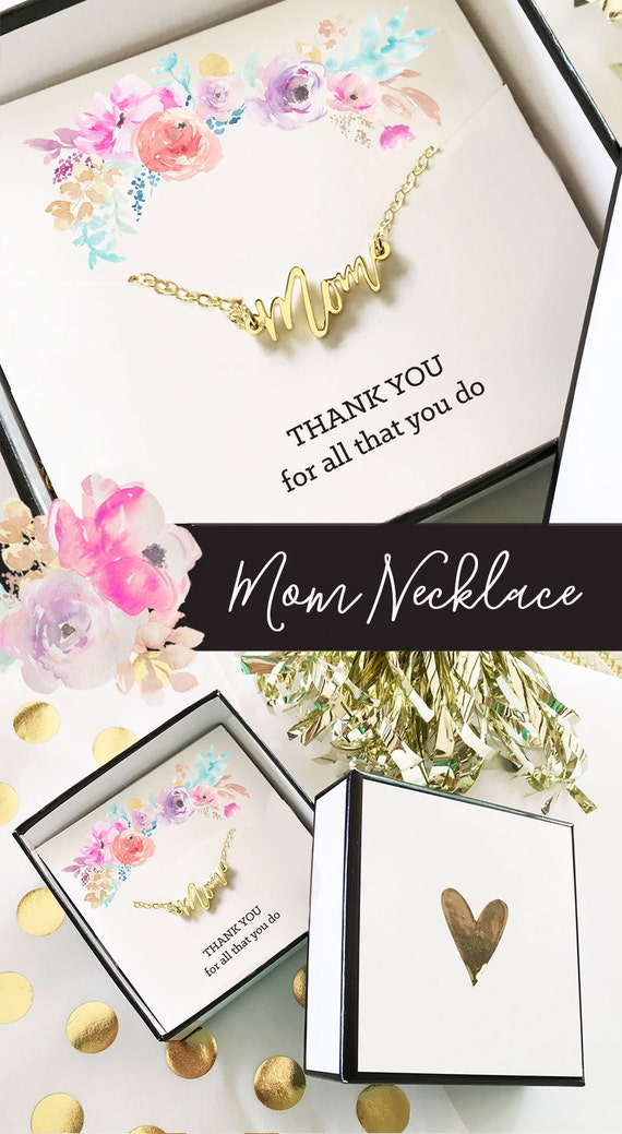 Mom necklace gifts for mom birthday gift for mom christmas for Jewelry for mom for christmas