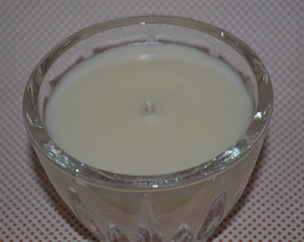 Wild Irish Rose Organic Soy Candle in Lead Crystal Tumbler