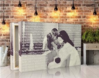 custom vows on canvas vows on canvas custom framed vows wedding vows canvas custom wedding vows framed wedding vows rockincanvas
