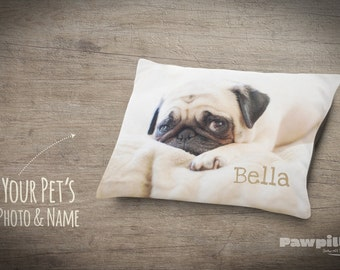 custom dog bed custom photo pet bed photo gifts pet pillow