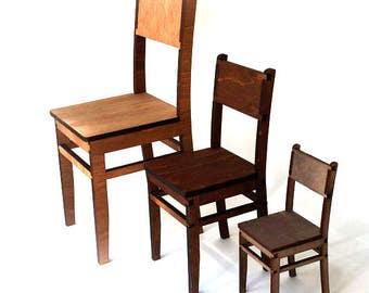 Doll chair #3. Scale 1/6 YoSD, 1/4 MSD, 1/3 SD (bjd, barbie, monster high, momoko, blythe, obitsu, pullip, azone, fashion doll furniture)