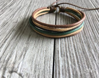 Hemp Bracelet, Vegan Jewellery, Hemp Cord Bracelet, Vegan Bracelet, Hemp Jewelry, Gifts Under 10 Made Well, Priced Right HB-26
