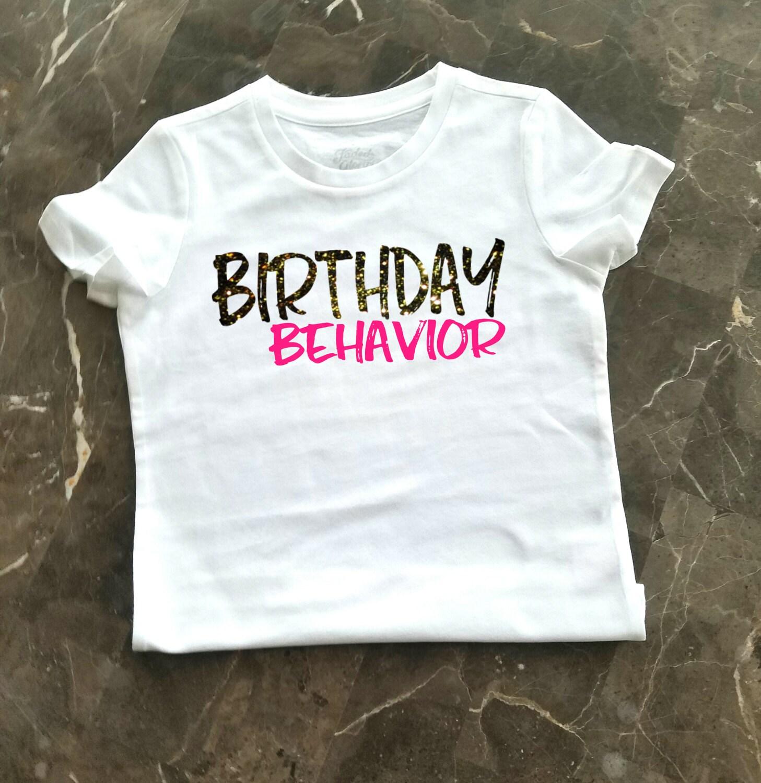 Custom Toddler Birthday Shirts