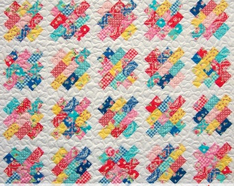 Boundless Beauty, Quilt Pattern, PDF Pattern, Patchwork, Scrappy, Baby, Lap, Twin, Queen, King, Busy Hands Patterns, BHQ1216015