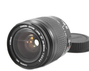 Canon EF 28-80mm f/3.5-5.6 zoom lens for digital & 35mm EOS cameras