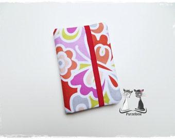 Business card holder - flowers - Butterfly - flowers - Butterfly