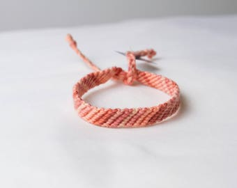 Friendship bracelet - Salmon collection