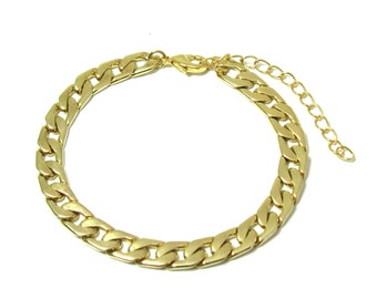 Men's Gold Bracelets - Mens Bracelet - Men's Jewelry - Jewelry For Men - Bracelets For Men - Gift for Him - Men's Gifts