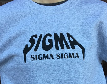 Officially Licensed Sigma Sigma Sigma Sweatshirt - Tri Sigma Crew Neck Sweatshirt - Yeezus Inspired Sigma Sweatshirt