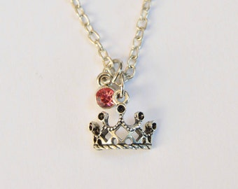 Princess Tiara Necklace