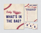Baseball Baby Shower Bags...