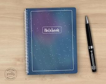Celestial Spiral Notebook / Journal